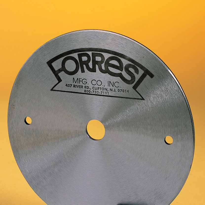 forrest blades. dampeners \u0026 stiffeners for most table, panel and radial arm saw blades forrest