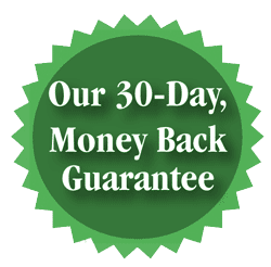 Our 30-Day, Money Back Guarantee